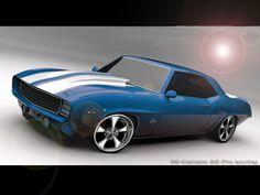 '69 Camaro...I love muscle cars