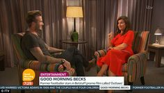 David's new campaign comes a day after the footballer-turned-model was being interviewed by flirty GMB presenter Susanna Reid