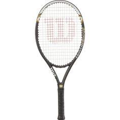 Wilson Men's Hyper Hammer 5.3 Tennis Racquet Black - Tennis at Academy Sports