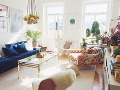 Sandra Beijer's living room by Elsa Billgren