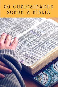 Curiosidades sobre livros da Bíblia, traduções, etc.
