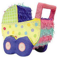 The Baby Carriage Pinata is a candy-filled bundle of joy! This Baby Carriage Pinata resembles a sweet baby carriage and is perfect as a baby shower decoration or baby shower activity. Baby Shower Party Supplies, Kids Party Supplies, Toddler Costumes, Halloween Costumes For Kids, Gender Reveal Pinata, Do It Yourself Baby, Pinata Party, Baby Wedding, Baby Shower Activities
