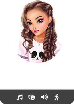 Best Friend Drawings, Bff Drawings, Cartoon Girl Images, Girl Cartoon, Cute Disney, Disney Art, Illustration Inspiration, Pink Ombre Hair, Cute Kawaii Girl