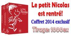 """Coffret collector """"Petit Nicolas"""" 2014. http://www.philantologie.fr/fr/coffrets/13657-coffret-collector-petit-nicolas-2014-monnaie-de-paris-tirage-1000-exemplaires.html"""