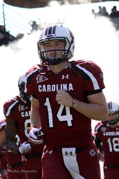 South Carolina Gamecocks :) So ready for football season!!!