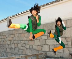 NARUTO: Gai and Lee cosplay by ~MIUX-R on deviantART