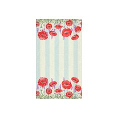"Custom Red Poppy Pattern Bath Towels Home&Bathroom Shower Towel Bath Wrap Washcloth Beach Towel 30""X56"" (One Side) -- Awesome products selected by Anna Churchill"