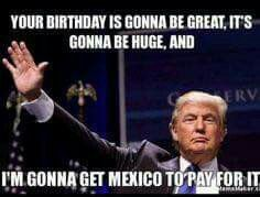 I love this guy! - Happy Birthday Funny - Funny Birthday meme - - I love this guy! The post I love this guy! appeared first on Gag Dad. Birthday Quotes For Me, Birthday Wishes Funny, Happy Birthday Images, Birthday Messages, Humor Birthday, Trump Happy Birthday Meme, Birthday Greetings, Funny Happy Birthday Quotes, Birthday Stuff
