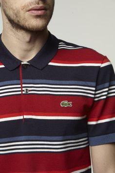 Lacoste - classic stripes