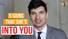 How to tell if a girl likes you - 5 signs that a girl is interested in you (VIDEO)