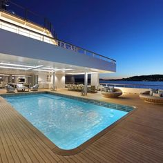 ANDROMEDA is a luxury expedition mega yacht built in refitted in 2017 by Kleven. View similar yachts for Charter around the world. Luxury Yacht Interior, Luxury Yachts, Yacht Design, Boat Design, Yacht Boat, Diy Home Decor On A Budget, Super Yachts, Motor Yacht, Catamaran