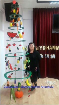 Vegetable Crafts, Healthy Schools, Art For Kids, Crafts For Kids, Bird Nest Craft, Fruit Crafts, Deco Restaurant, Apple Coloring, Fruit Of The Spirit