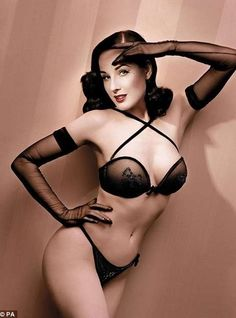 lingerie pin ups girls   39 Provocative Pin-Ups - From Miniature Pin-Up Jewelry to Pin-Up Girl ...