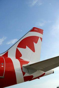 Air Canada Rouge Airbus A319-112 C-GJVY, circa 2013. (Photo: Air Canada Rouge)
