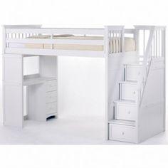Afbeeldingsresultaat voor mezzanine bed