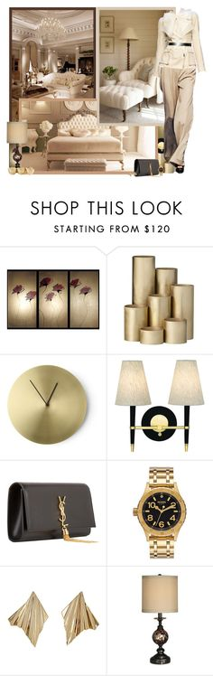 """""""For the lovely @sarahguo!"""" by asia-12 ❤ liked on Polyvore featuring ferm LIVING, Barneys New York, Jason Wu, Yves Saint Laurent, Nixon, Givenchy and Dale Tiffany"""