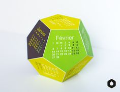 Calendrier Alvéoles VERSION 2017 - free printable calendar