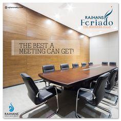 The best a meeting can get!  #RajhansFeriado #Weekendvillas #RajhansRealEstate #Surat