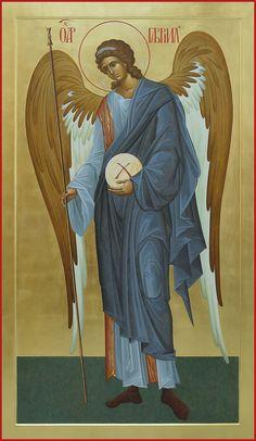 Orthodox Icons, Byzantine Art, Archangel Gabriel, Renaissance Art, Art, Catholic Art, Christian Art, Angel Art, Sacred Art
