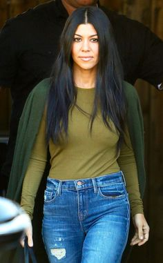 Kourtney Kardashian from The Big Picture: Today's Hot Pics The E! star's hot figure probably made more than a few ladies green with envy as she strutted her stuff in L.A.