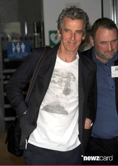 Peter Capaldi pictured at the BBC on August 22, 2014 in London, England. (Photo by SAV/GC Images)