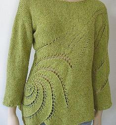 Norah Gaughan es una de las más importantes diseñadoras de la escena tejeril. Su especialidad es el punto y esa es la técnica a la que dedica buena parte de sus patrones. Sin embargo, es curioso sa…