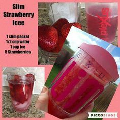 Plexus Slim Strawberry Icee! It's so yummy and refreshing for a Summer treat! A healthy all natural drink. You can order your Plexus Slim from my website: www.shopmyplexus.com/janellemthomas Plexus Worldwide Independent Ambassador #1300999