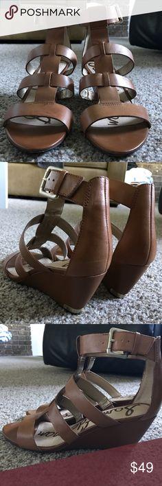 Sam Edelman wedges Sam Edelman wedges in excellent condition. Sam Edelman Shoes Wedges