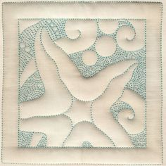 Starfish Square (Embroidery pattern that is great inspiration for quilting.)