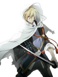 山姥切国広 Katana, Character Concept, Character Art, Fu Fu Fu, Manga Art, Anime Art, Samurai, Anime Neko, Bungo Stray Dogs