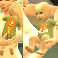 10 Baby Outfits by bienchen83 at Mod The Sims via Sims 4 Updates