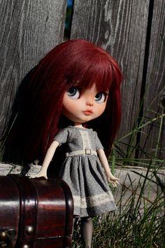 Gwen Custom Blythe Doll OOAK Art Doll by NDsDazzlingDollys