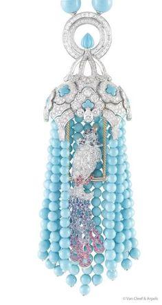 Birdcage pendant by Van Cleef & Arpels★༺❤༻★