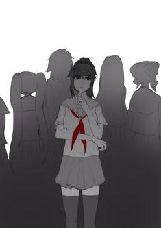 Yandere Manga, Manga Anime, Anime Art, Ayano X Budo, Crybaby Melanie Martinez, Mini Comic, Love Sick, Yandere Simulator, Dark Anime