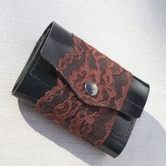 Lady's wallet. Upcycled inner tube. My sis in law makes these and they are awesome