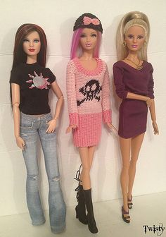 Rerooted Barbies | Flickr - Photo Sharing!