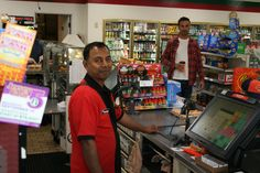We would like to thank the employees at 7-Eleven for participating.