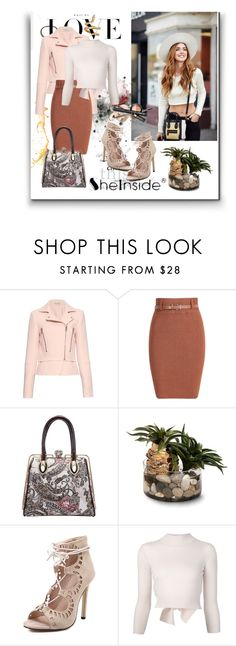 """Shein (2)  9"" by aida-1999 ❤ liked on Polyvore featuring moda, Roberto Coin, Balenciaga, John-Richard, Alexander McQueen, women's clothing, women, female, woman y misses"