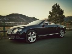 Bentley~ wish this was a different color, not a big fan of black cars, it's too hot here.