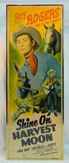 Roy Rogers Movie Poster Period Posterhttp://www.invaluable.com