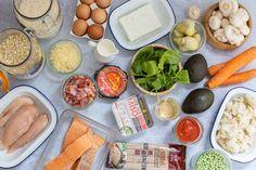 Quiche Au Brocoli, Batch Cooking, Menu, Fresh Rolls, Cheese, Avril, Ethnic Recipes, Food, Chicken Schnitzel