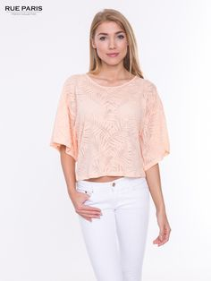 Bat style shirt model 42996 Rue Paris