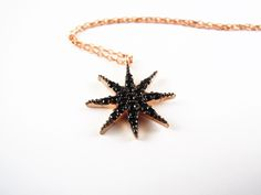Image of Starfish necklace -  mom gift - girlfriend gift - wife gift - grandma gift - turquoise necklace