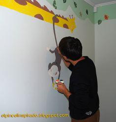 Pintura en la pared