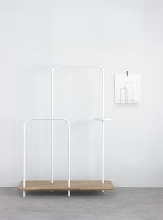 Shelving system Platel by Note Design Studio (2014) for Punt Mobles