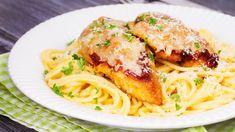 pasta broilerivuoka – Google-haku Chicken Recipes, Spaghetti, Food And Drink, Keto, Pasta, Yummy Food, Baking, Ethnic Recipes, Google