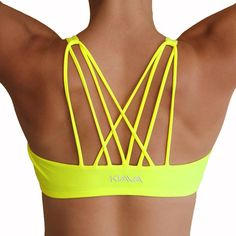 LOVE THIS Love the look of this Dynamic Bra - KIAVAclothing has the best workout stuff! #KIAVA