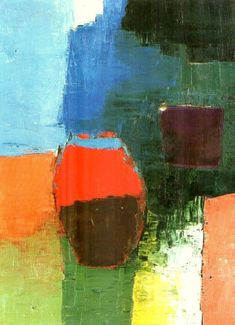 Nicolas de Staël, Pot rouge, 1952                                                                                                                                                                                 Plus