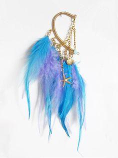 mermaid ear cuff. love...