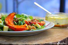 Cuisinons en Couleurs: Salade de potiron rôti, betterave, comté et noix